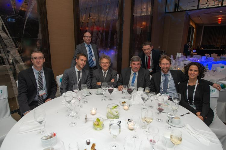 AMIS table at Global Grains conference dinner