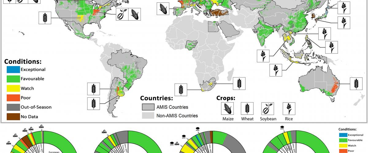 crop monitor mapping