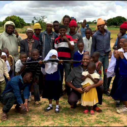 Tanzania residents who assisted with drone work.