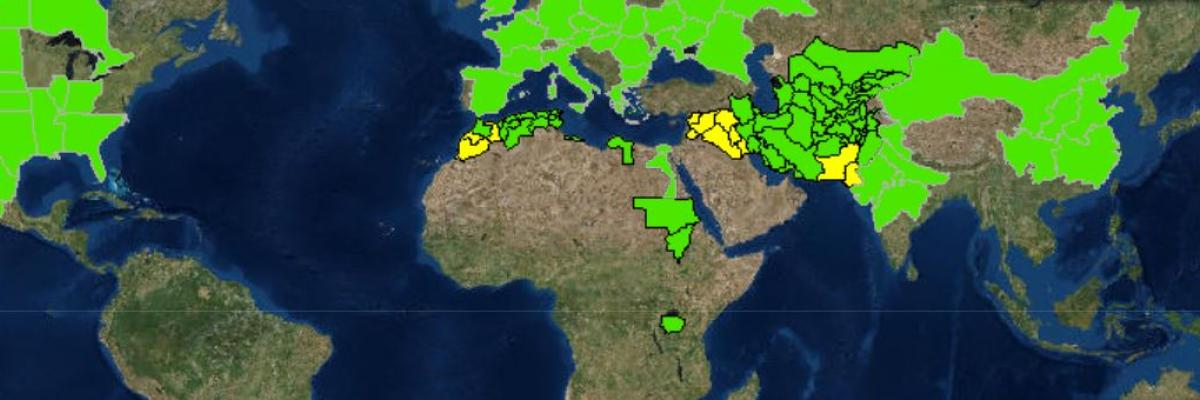 Crop alerts improve early warning for food security when disaster