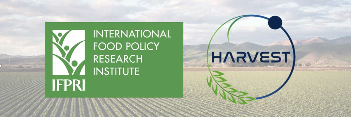 webinar IFPRI and Harvest
