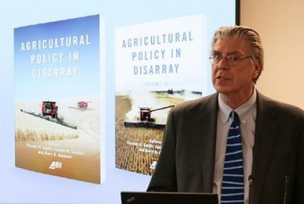 Glauber et al presenting Agricultural Policy in Disarray