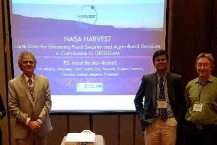 Harvest group at Malaysia LCLUC